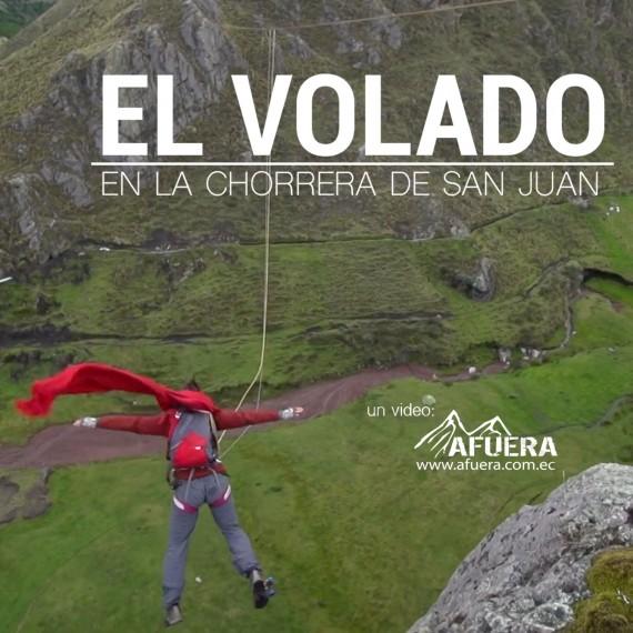 EL VOLADO: La Chorrera de San Juan